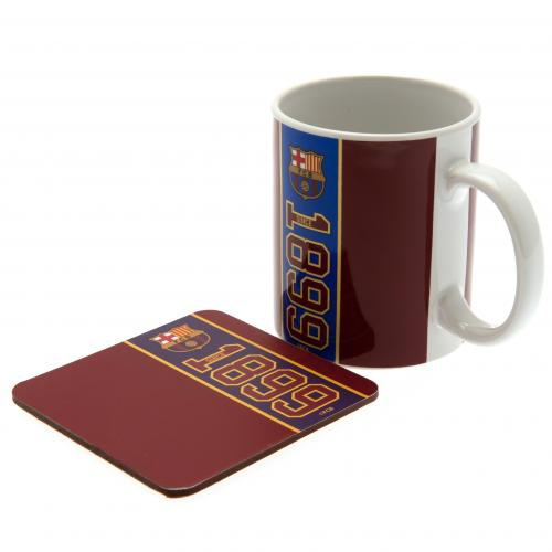 5a25e134bdfe2 Barcelona kubek Mug and Coaster Set - FAN-store.pl