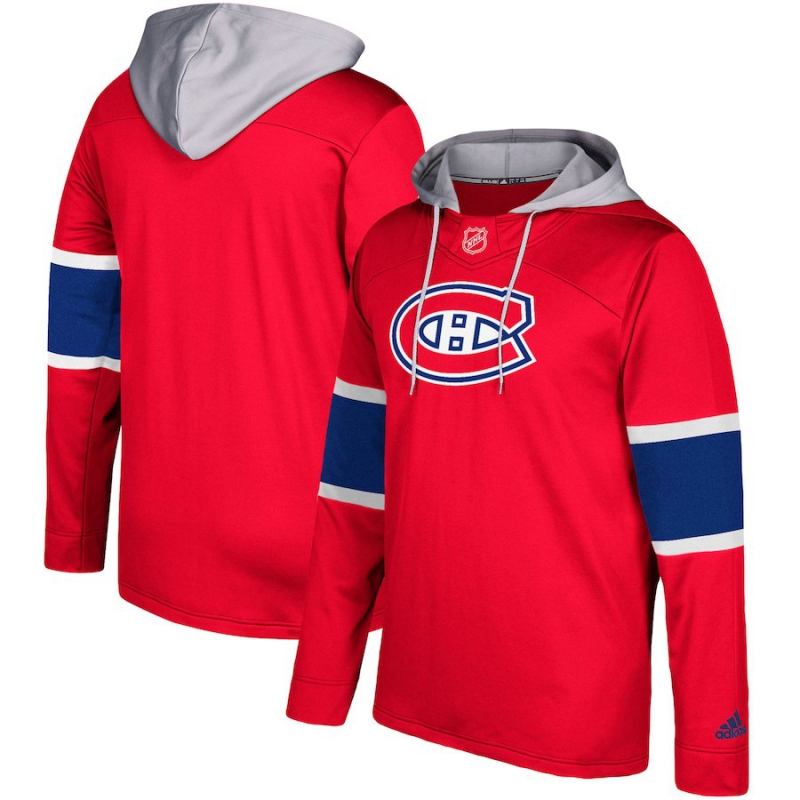 Mikina Montreal Canadiens Adidas Jersey Pullover Hoodie