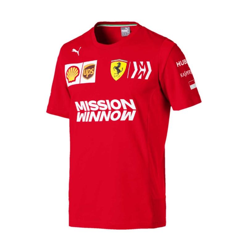 fe319cd3f3d50b Ferrari koszulka męska Leclerc red F1 Team 2019 - FAN-store.pl