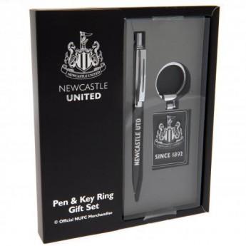 Newcastle United długopis i brelok executive set