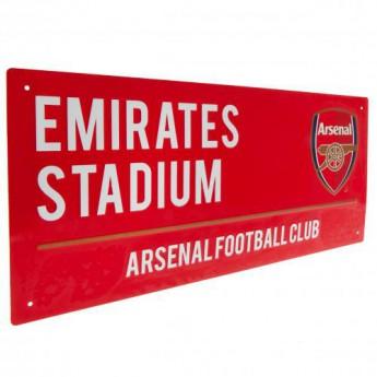 Arsenal tablica na ścianę Street Sign RD