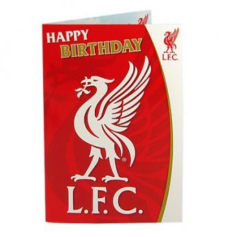 Liverpool życzenia urodzinowe Musical Birthday Card
