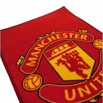 Manchester United wycieraczka rug logo