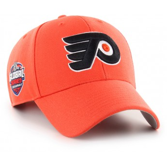 Philadelphia Flyers czapka baseballówka 47 Brand Captain Sure Shot MVP NHL orange GS19