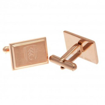 Fulham spinki mankietowe Rose Gold Plated Cufflinks