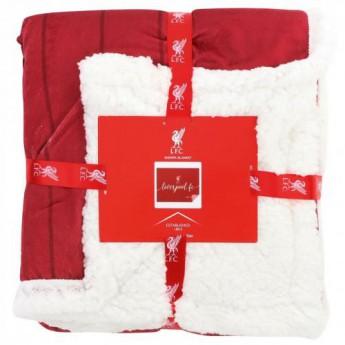 Liverpool koc flis Sherpa Blanket