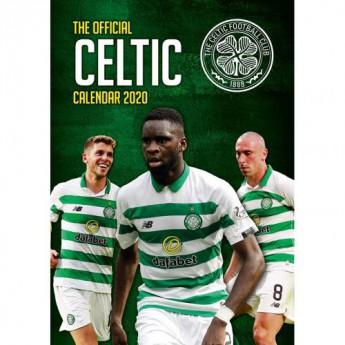 FC Celtic kalendarz 2020 Team A3