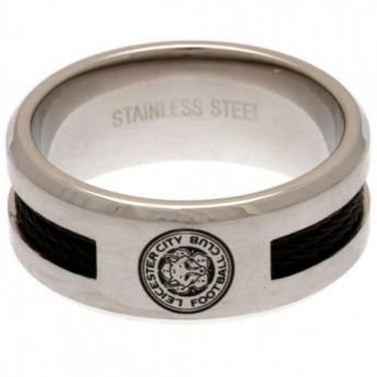 Leicester City pierścionek Black Inlay Ring Medium