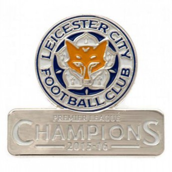 Leicester City pineska Badge Champions