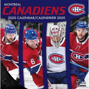 Montreal Canadiens kalendarz 2020 Wall
