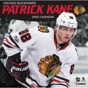 Chicago Blackhawks kalendarz Patrick Kane 2020 Wall