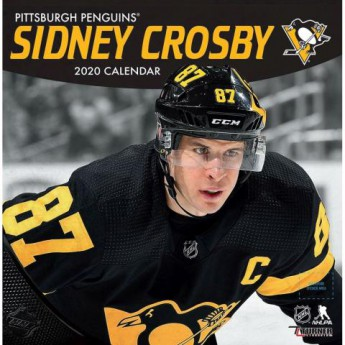 Pittsburgh Penguins kalendarz Sidney Crosby 2020 Wall
