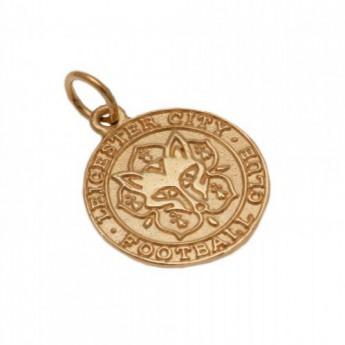 Leicester City złoty brelok 9ct Gold Pendant