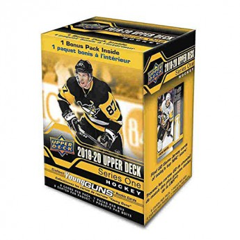NHL pudełka karty hokejowe NHL Upper Deck 2019-2020 Hockey Series 1 Blaster Box
