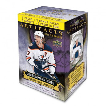 NHL pudełka karty hokejowe NHL Upper Deck 2019-2020 Artifacts Blaster Box