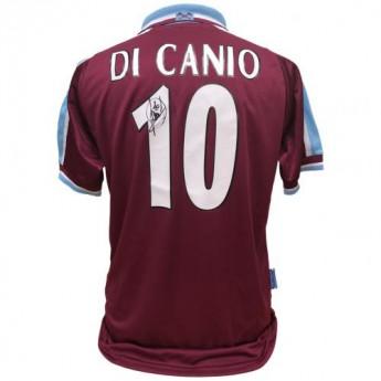 Słynni piłkarze piłkarska koszulka meczowa West Ham United FC Di Canio 2000 Signed Shirt
