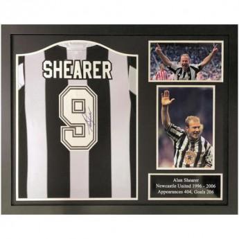 Słynni piłkarze koszulka w antyramie Newcastle United FC Shearer 1996 Signed Shirt (Framed)