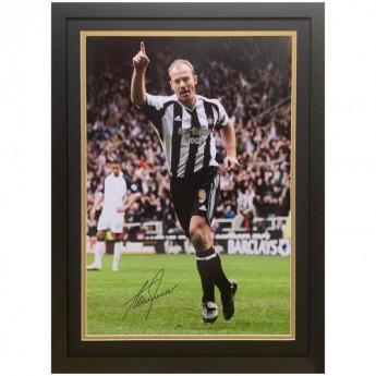 Słynni piłkarze obrazek w ramce Newcastle United FC Shearer Signed Framed Print