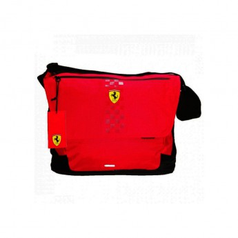 Ferrari torba na laptop Messenger red F1 Team 2019