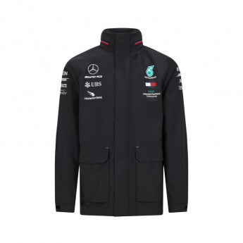 Mercedes AMG Petronas kurtka męska rain black F1 Team 2020