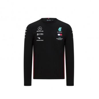 Mercedes AMG Petronas męska koszulka z długim rękawem black F1 Team 2020