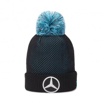 Mercedes AMG Petronas czapka zimowa EQ black F1 Team 2020