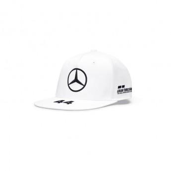 Mercedes AMG Petronas czapka flat baseballówka Lewis Hamilton white F1 Team 2020
