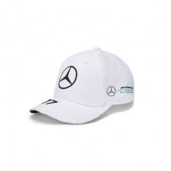 Mercedes AMG Petronas czapka baseballówka Valtteri Bottas white F1 Team 2020