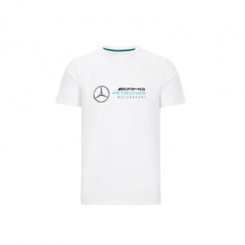 Mercedes AMG Petronas koszulka męska logo white F1 Team 2020