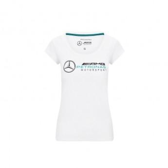 Mercedes AMG Petronas koszulka damska logo white F1 Team 2020