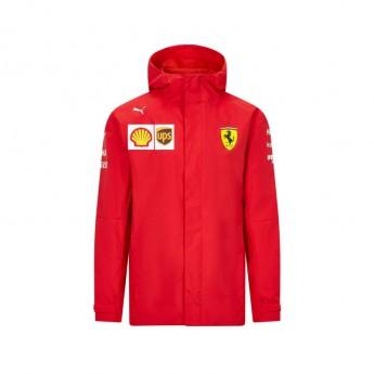Ferrari męska kurtka z kapturem rain red F1 Team 2020