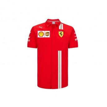 Ferrari koszula męska red F1 Team 2020
