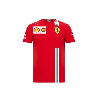 Ferrari koszulka męska Leclerc red F1 Team 2020