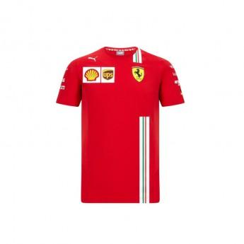 Ferrari koszulka męska Vettel red F1 Team 2020