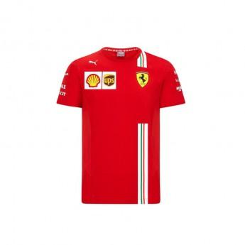 Ferrari koszulka dziecięca red F1 Team 2020