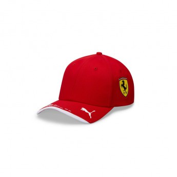 Ferrari dziecięca czapka baseballowa red F1 Team 2020