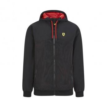 Ferrari męska kurtka z kapturem Windbreaker black F1 Team 2020