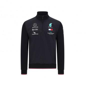 Mercedes AMG Petronas bluza męska half zip black F1 Team 2020