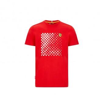 Ferrari koszulka męska checkered red F1 Team 2020