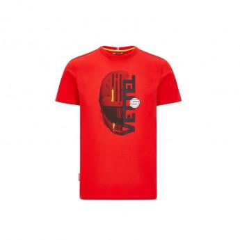 Ferrari koszulka męska Vettel driver red F1 Team 2020