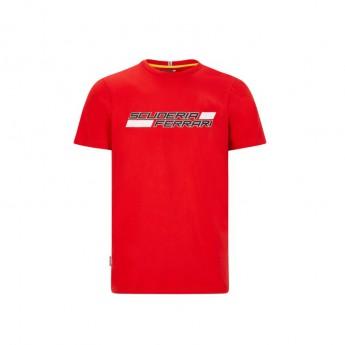 Ferrari koszulka męska logo red F1 Team 2020