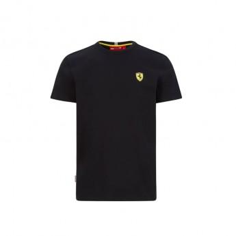 Ferrari koszulka męska small logo black F1 Team 2020
