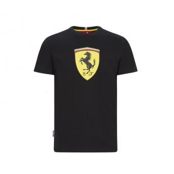 Ferrari koszulka męska large shield black F1 Team 2020
