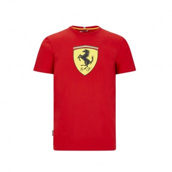 Ferrari koszulka męska large shield red F1 Team 2020