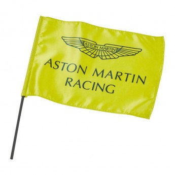 Aston Martin flaga lime green F1 Team 2019