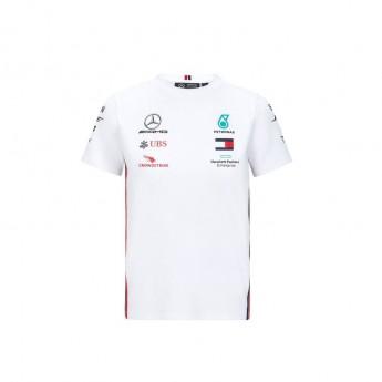 Mercedes AMG Petronas koszulka dziecięca white F1 Team 2020