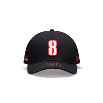 Haas F1 czapka baseballówka Grosjean black F1 Team 2020