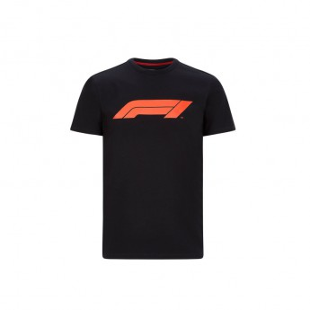 Formuła 1 koszulka męska logo black 2020