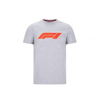 Formuła 1 koszulka męska logo grey 2020