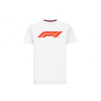 Formuła 1 koszulka męska logo white 2020